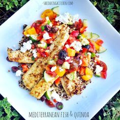 Short on time but want to impress? Whip up our Mediterranean Fish and Quinoa. It's full of color AND flavor!