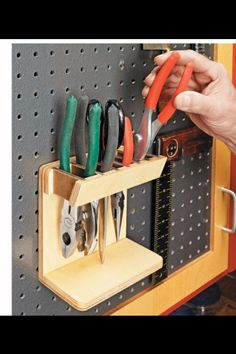 9 Fascinating Cool Tips: Woodworking Tools Storage Air Compressor Traditional Woodworking Tools.Woodworking Tools Organization How To Build Woodworking Tools Diy Popular Mechanics.Woodworking Tools Saw Wood Working. Workshop Storage, Workshop Organization, Tool Storage, Garage Storage, Storage Shelving, Workshop Ideas, Garage Workshop, Garage Tools, Diy Garage