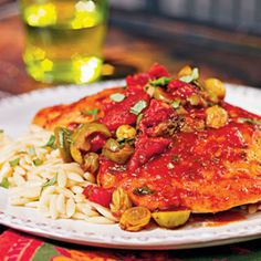 Sicilian Chicken | MyRecipes.com