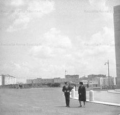 Foto storiche di Roma - Piazza Don Bosco Anni '60