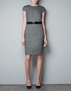 WOOL DRESS - Dresses - Woman - ZARA United States
