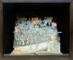 Modern paper art by Su Blackwell is a creative blend of the traditional craft and contemporary ideas, creating amazing home decorations and unique gifts
