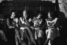 John Cleese, Neil Innes, Michael Palin and Eric Idle
