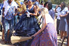 Lerato & Setsumi' Fairy Tale Wedding - South African Wedding Blog African Wedding Dress, Wedding Dresses, Traditional Wedding, Traditional Ideas, Black Art Pictures, South African Weddings, Fairytale Weddings, New Outfits, Wedding Bells