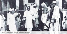 During the Borsad plague of 1935, Sardar Patel organized a massive effort to fight the epidemic. Without trying to get support from the British government, he mobilized volunteers to go from village to village and house to house to destroy rats and disinfect the affected areas, thereby bringing epidemic under control.