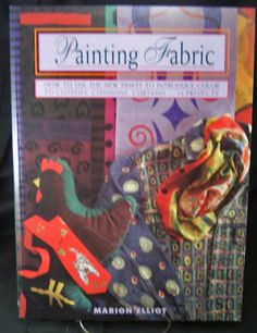 Painting Fabric Book by Marion Elliot by 7thStash on Etsy, $5.00