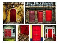 Red doors ©Aurélie Fauré