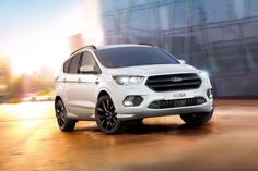 Inning accordance with early info about 2019 Ford Kuga, we can expect a redesign. Cosmetic changes will make this SUV fresh. Likewise, tuning on engines will make it more economical. Car Images, Car Photos, Ford Kuga 2017, My Dream Car, Dream Cars, Diesel, Volvo V60, Mens Toys, Ford News