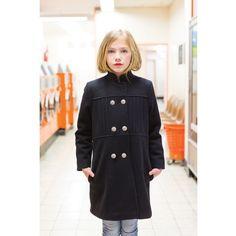 Coat Colette navy - lundimardi