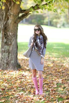 The Perfect Striped Dress:Southern Curls & Pearls waysify