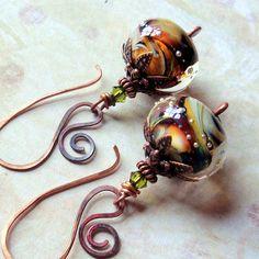 Faery Moons Earrings by sihaya09, via Flickr