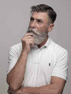 Hipster fashion has left us all kinds of headlines . Beards And Mustaches, Beard And Mustache Styles, Grey Beards, Beard No Mustache, Hair And Beard Styles, Mens Hairstyles With Beard, Hipster Hairstyles, Haircuts For Men, Hipster Man