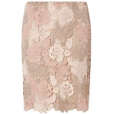 Dorothy Perkins Nude Guipure Lace Mini Skirt (78 NZD) ❤ liked on Polyvore featuring skirts, mini skirts, white, short floral skirt, white lace mini skirt, dorothy perkins, short mini skirts and lace miniskirt