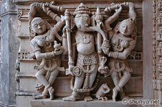 Amazing architecture Palitana Jain Temple in Gujarat