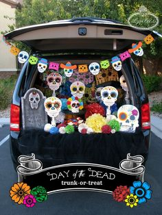 Day of the Dead Trunk-or-Treat Ideas - Lynlees