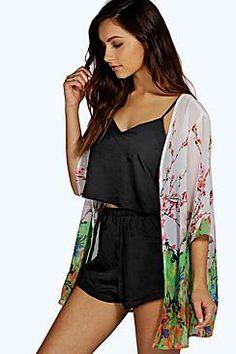 Fiona Floral Kimono Robe
