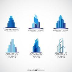 Construction company logo templates Free Logos, Free Logo Templates, Construction Company Logo, Construction Design, Construction Business, Construction Birthday, Business Logo, Business Card Design, Civil Engineering Logo