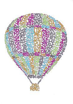Hot Air Balloon - Coldplay AHFOD