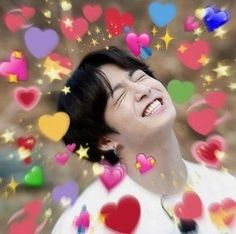 ❝She's a delicate little flower, hyung,❞ Jungkook grabs his leather jacket and slips it on. ❝And if anyone is going to hear sinful moans pass those innocent lips, it'll be me. Foto Bts, Bts Photo, K Pop, Bts Emoji, Jimin Jungkook, Taehyung, Heart Meme, Bts Face, Bts Meme Faces