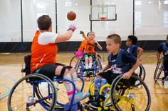 https://flic.kr/p/DcyXVQ | Jr. Pacers Wheelchair Basketball Home Tournament @ Mary Free Bed YMCA - Nov 4, 2017