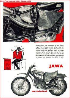 Motocross Bikes, Vintage Motocross, Jawa 350, Moped Scooter, 50cc, Bike Design, Scrambler, Cool Bikes, Grand Prix