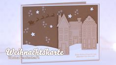 Stampin' Up! - How I make a christmas card - Weihnachtskarte - Winterlan...