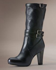 Women's Miranda Slouch Boot - Black.                   $267.95