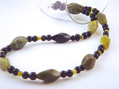Jade and Silver Necklace Olive New Jade by bluegatorjewelry, $30.00