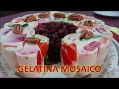 Como Hacer GELATINA DE TRES LECHES  MOSAICO  receta facil/Cocina Tradicional Mexicana - YouTube