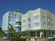 Art Deco District, Miami Florida.