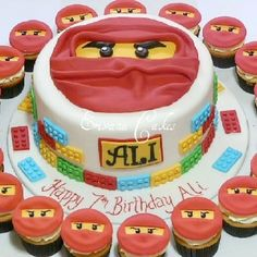 Ninja go cake