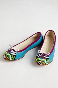 Mushaira Flats #anthropologie  I guess you can tell that I love color.