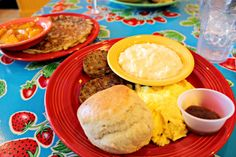 Cupcakes and Sunshine: Flying Biscuit Cafe Review, Flying Biscuit Cafe in Peachtree City, GA.