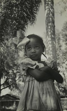 Consuelo Kanaga (American, 1894-1978). [Untitled] (Southern Girl, Florida), 1950