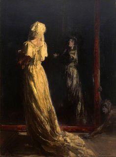 William Nicholson: The Black Mirror
