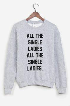 ANTI.  Et oui.  Single Ladies.  #valentinesday #saintvalentin