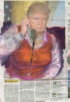 Artist Jet Nijkamp has created a series of pastel works that depict President Donald Trump in beautiful dresses. In February, the Oval Office issued a directive to White House staff that female employees should 'dress like a woman'. At the time the instruction provoked controversy and was seen by many as 'sexist', but one artist used their indignation to create a brilliant series of pastel drawings. In her series of drawings, 'Dress Like A Woman' Jet Nijkamp presents t...