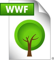 Save as WWF, Save a Tree. A WWF format is a PDF that cannot be printed out. It's a simple way to avoid unnecessary printing. @Sarah Flory @Laura Lea Day