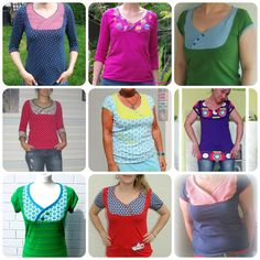 mialuna - Ebook Damenshirt Lady Carolyn Gr.34-50 (7,50EUR)