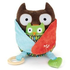 Hug and Hide Activity Owl
