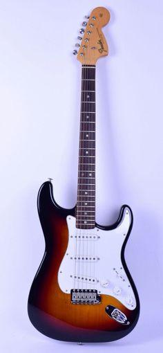 1966 Fender Stratocaster Guitar Sunburst | eBay