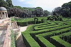 LABERINTO EN Jardines de la Granja de San Ildefonso