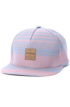 b6669fbab93 Analog Hat Cali Snapback in Cadet Blue