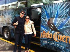 Con Cecilia (Denominación de Origen del Arroz) Llegando a Jose Cuervo Express!!! Buena vibra!!! #chefcms #denominacióndeorigen #arroz #bacanora #josecuervo #josecuervoexpress #guadalajara #morelos #sonora #tequila