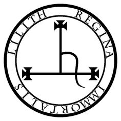 lilith symbol in the middle