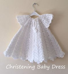 Crochet Baby Dress Pattern First Outfit Baby Shower Gift