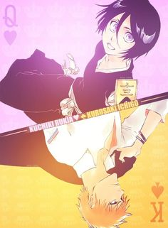 King and Queen. Ichigo and Rukia Love this <3
