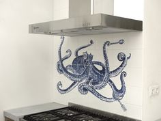 Octopus with fork and spoon – 1000graden Ceramic Artisans