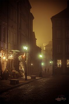 Warsaw Old Town - Poland. For anyone who played Metal Gear Solid 4, this look exactly like the Eastern European level.