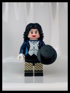 Zatanna Custom LEGO Minifig designed by Batbrick Lego Dc, Lego Batman, Cool Lego, Awesome Lego, Marvel And Dc Superheroes, Arrow Black Canary, Lego Pictures, Lego People, Hero Girl